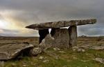 Poulnabrone dolmen, the Burren, County Clare Photo: Steve Ford Elliott  Wikimedia Commons