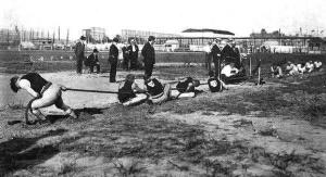 1904 tug of war  Wikimedia Commons