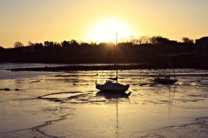 Kinvara sunrise, Photo: Norma Scheibe