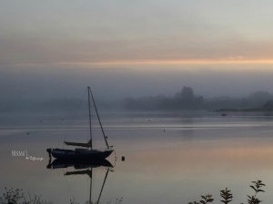 Dunguaire in the mist, Kinvara Photo: Norma Scheibe