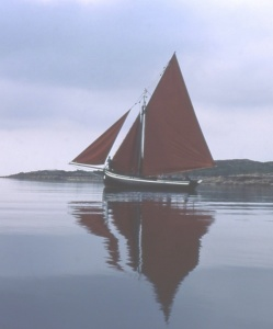 Galway Hooker  Photo: Anne Burgess.   Wikimedia Commons