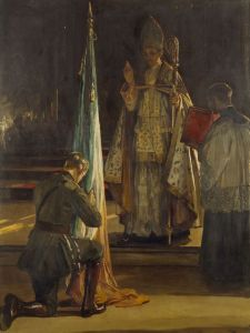 Blessing of the Colours  John Lavery, 1922. Wikimedia Commons