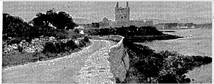 Dungory/Dunguaire Castle, Kinvara, County Galway. Irish Press 12th November, 1931