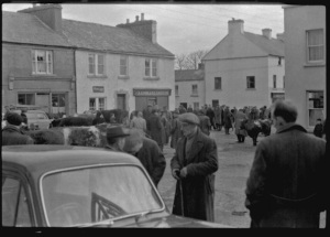 Fair day, Kinvara c1950 Photo: Cresswell Archives