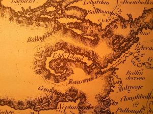 Island Eddy from Larkin's (1818) map of County Galway Wikimedia Commons