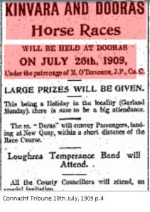 Kinvara Races 1909