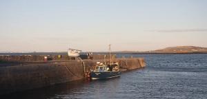 Ballyvaughan Harbour Photo: Bob Jones Wikimedia Commons