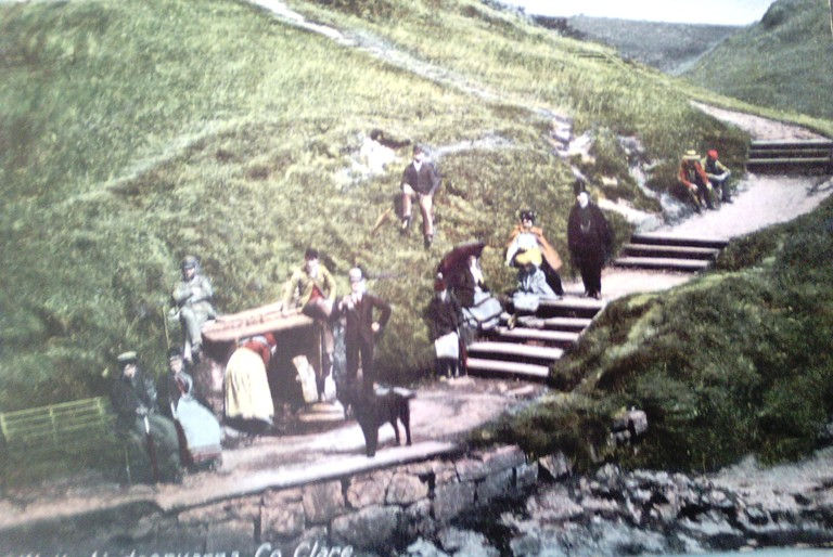 Postcard from Lisdoonvarna