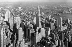 New York City 1932  Photo: Samuel Gottscho Library of Congress Wikimedia Commons