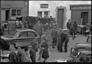 Fair Day, Kinvara c. 1950 Photo: Cresswell archives