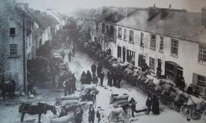 Kinvara Wool Market c.1900