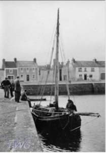 The Quay, Kinvara c.1950 Photo: Cresswell archives