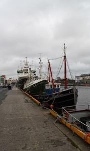 Galway Harbour Photo: Patrick-Emil Zorner Wikimedia Commons