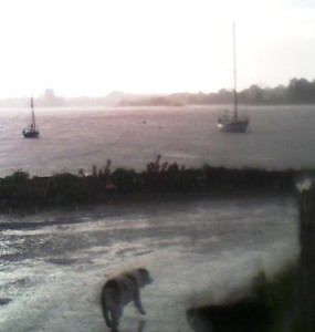Stormy weather, Kinvara Photo: EO'D