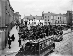 Eyre Square, Galway c.1885 National Library of Ireland