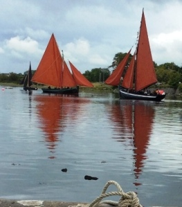 Galway Hookers at Kinvara