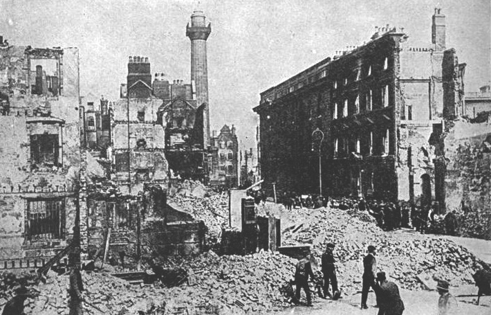 Sackville street after Rising
