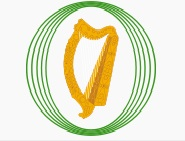 Logo of the Oireachtas of Ireland Image: Barryob Wikimedia Commons