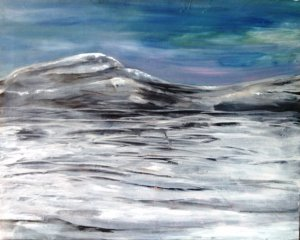 Mullaghmore Acrylic on canvas EO'D