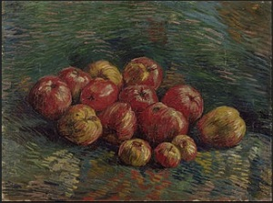 Apples Vincent van Gogh (1853-1890) Van Gogh Museum Wikimedia Commons