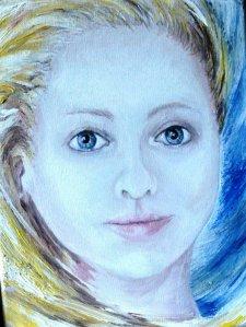 Niamh Acrylic on canvas EO'D