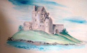 Dunguaire Watercolor EO'D