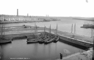 Galway Harbour c. 1900 Photo: National Archives